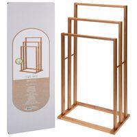 Bathroom Solutions Håndklestativ i bambus med 3 stenger