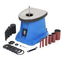 vidaXL Oscillerende spindelpusser 450 W blå