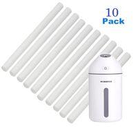 Luftfukterfilter 10 stk - Påfyll FS-GX J609-Hvit