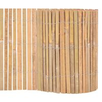 vidaXL Bambusgjerde 1000x30 cm