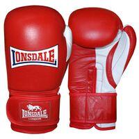 LONSDALE Sparringshansker Pro Safe rød 14oz