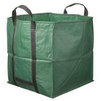Nature Hageavfallssekk firkantet grønn 252 L 6072405