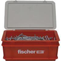 Fischer Spikerskruesett med plugger N6x60 400 stk