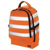 Toolpack Verktøysekk med høy synlighet Guard oransje og svart