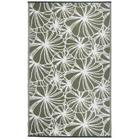 Esschert Design Uteteppe 241x152 cm blomstermønster OC21