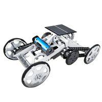 Klatrende Firehjulsdrevet Lekebil med Solceller