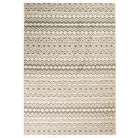 vidaXL Moderne teppe tradisjonelt design 80x150 cm beige/grå