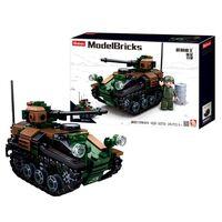 Sluban ModelBricks, Byggesett - Wiesel Tankett 2-i-1
