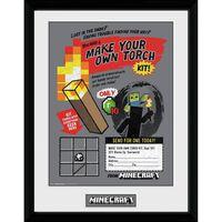 Minecraft - Tavle, Make Your Own Torch
