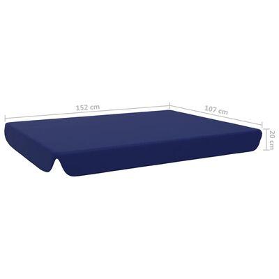 vidaXL Erstatningsbaldakin til hagehuske blå 192x147 cm