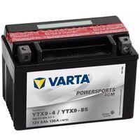 Varta Motorsykkelbatteri Powersports AGM YTX9-4 / YTX9-BS