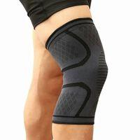 Knebeskytter med kompresjon for trening / løping - XL