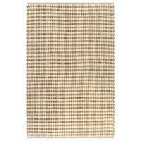 vidaXL Håndvevd teppe jute stoff 120x180 cm naturell og hvit