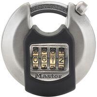Master Lock Rund hengelås Excell rustfritt stål 70 mm M40EURDNUM