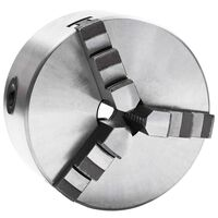 vidaXL Selvsentrerende chuck til dreiebenk 3 bakker 125 mm stål