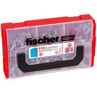 Fischer Veggplugger FIXtainer DUOPOWER kort/lang 210 stk