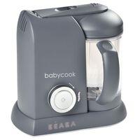 Beaba 4-i-1 Babymatprosessor Babycook Solo 1100 ml mørkegrå