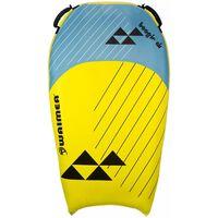 Waimea Oppblåsbart bodyboard Boogie Air gul og blå PVC 52WF-GEB-Uni