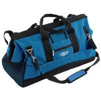 Draper Tools Bygningsverktøyveske 63x28x35 cm blå og svart 60 L