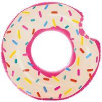 Oppblåsbar Badering, Intex - Rosa Donut