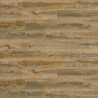 WallArt Trelignende planker gjenvunnet eik vintage brun