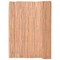 vidaXL Bambusgjerde 125x400 cm