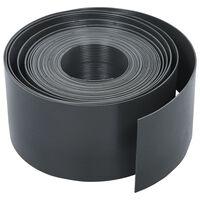 vidaXL Hagekant grå PE 10 m 20 cm