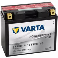 Varta Motorsykkelbatteri Powersports AGM YT12B-4/YT12B-BS