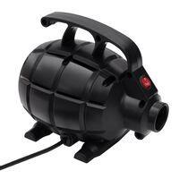 vidaXL Elektrisk luftpumpe svart