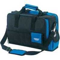 Draper Tools Expert Tekniker laptop og verktøyveske blå og svart 89209