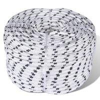 Båttau 10 mm x 50 m spiralflettet polyester