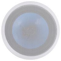 vidaXL Innebygd vegg- og takhøyttaler med diskant 180 W