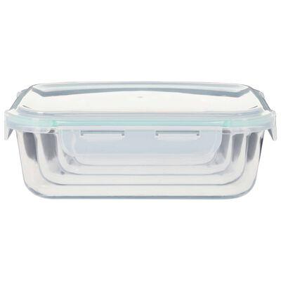 vidaXL Matbeholder glass 8 stk