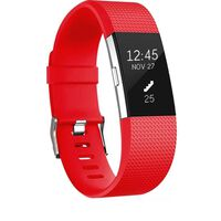 Armbånd for Fitbit Charge 2 - Rød - S