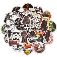 Klistremerker, 50 stk - Star Wars