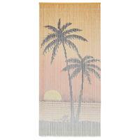 vidaXL Insektdør gardin bambus 90x200 cm