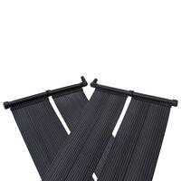 vidaXL Soldrevne bassengvarmerpaneler 80x310 cm