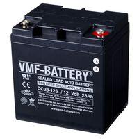 VMF AGM Dypsyklusbatteri 12 V 28 Ah DC28-12S