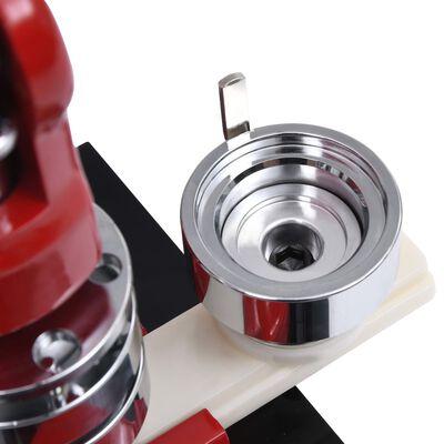 vidaXL Buttonsmaskin med sirkelkutter 25 mm