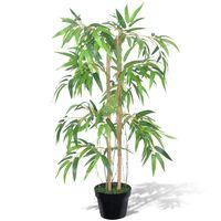 """Kunstig bambus """"Twiggy"""" med potte 90 cm"""