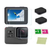 Objektivdeksel og skjermbeskytter GoPro Hero5 Hero6 Hero7 Black