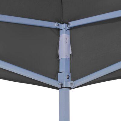 vidaXL Teltduk for festtelt 4,5x3 m antrasitt 270 g/m²