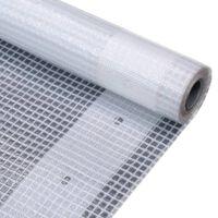 vidaXL Leno Presenning 260 g/m² 2x10 m hvit