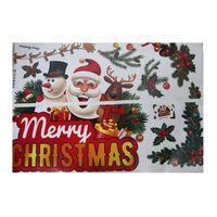 Klistremerker med julemotiv 6-pakning