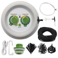 vidaXL Innedørs automatisk dryppvanningssett med kontroll