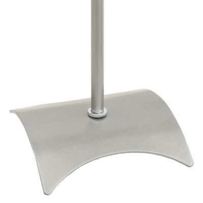 Universal Høyttalerstativ sølv 2 stk