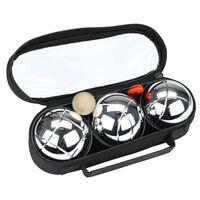 Get & Go Jeu De Boules III 3 baller sølv CGA 52JO-CGA-Uni