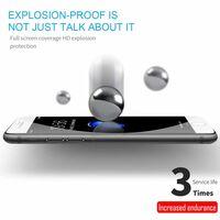 iPhone 8 Fullskjermbeskytter herdet glass - hvit