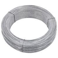 vidaXL Gjerdetråd 250 m 1,4 mm stål