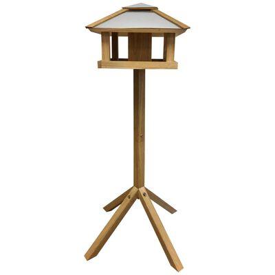 Esschert Design Fuglemater kvadratisk ståltak FB433
